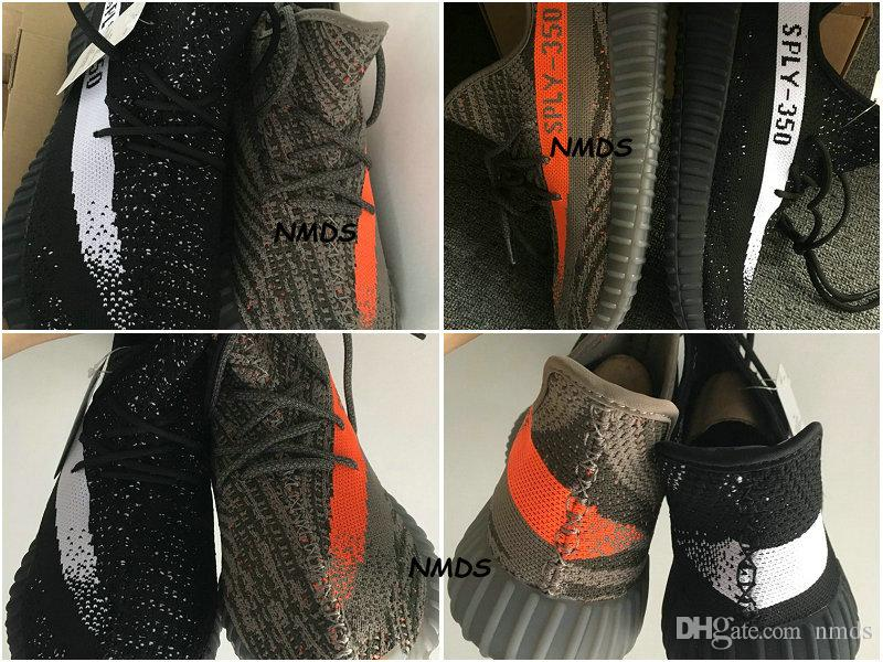 Yeezy 350 V 2 Core Black Copper / Red Core Black / Green Core Black