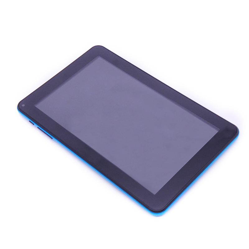 Light Slim 9,0 pouces Android 4,4 Quad Core Tablet PC 512 Mo de RAM 8 Go ROM Blu