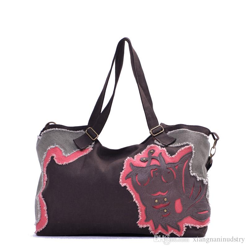 Chinese Bag Cloth Bag Shopping Bag Hand-made Bag Canvas Bag Fish ...