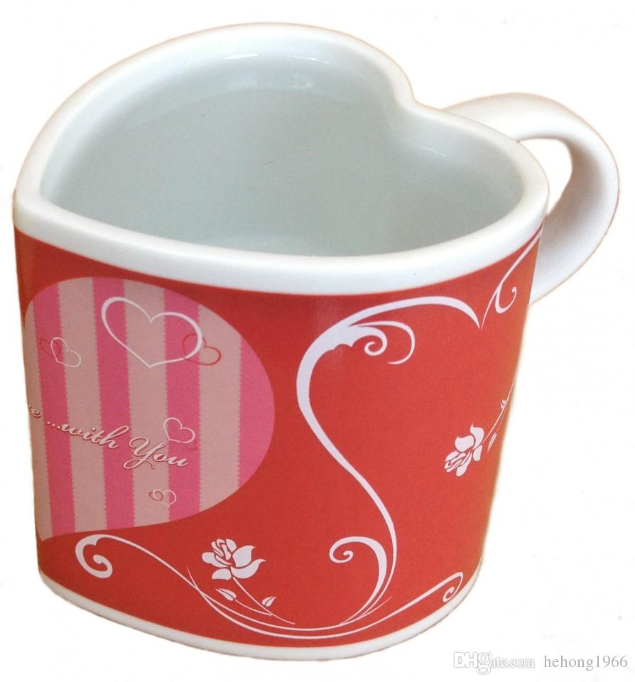 Color change online - Magic Color Change Cup Heart Shaped Mug I Love You Valentines Day Present Fall In Loves Hot 9 5yo