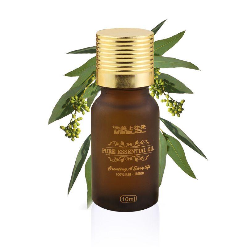 1Pcs/lot professional Eucalyptus Pure Essential Oil Moisturizing The pure plant unilateral Essential Oil 10 ml