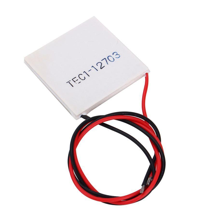 2017 Tec1 12703 Heatsink Thermoelectric Cooler Cooling Peltier ...
