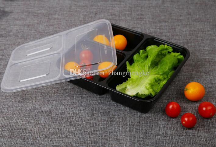 2018 Disposable Lunch Box Food Containers With Lids Bento