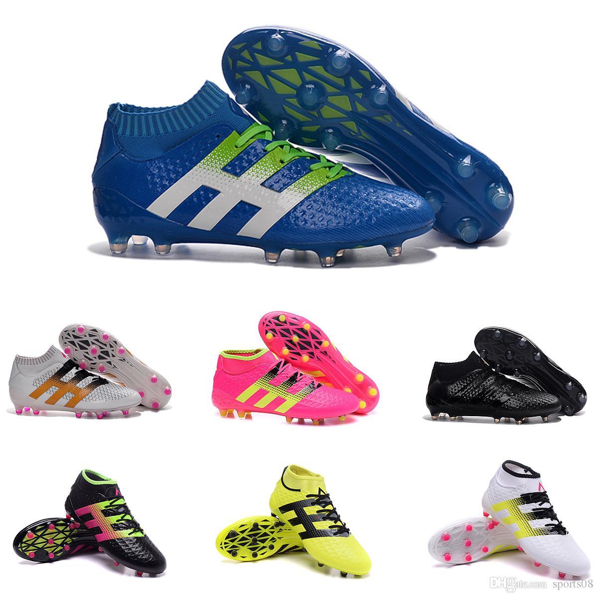 2017 Mens Ace 16.1primeknit Fg Soccer Shoes Discount Soccer Cleats ...