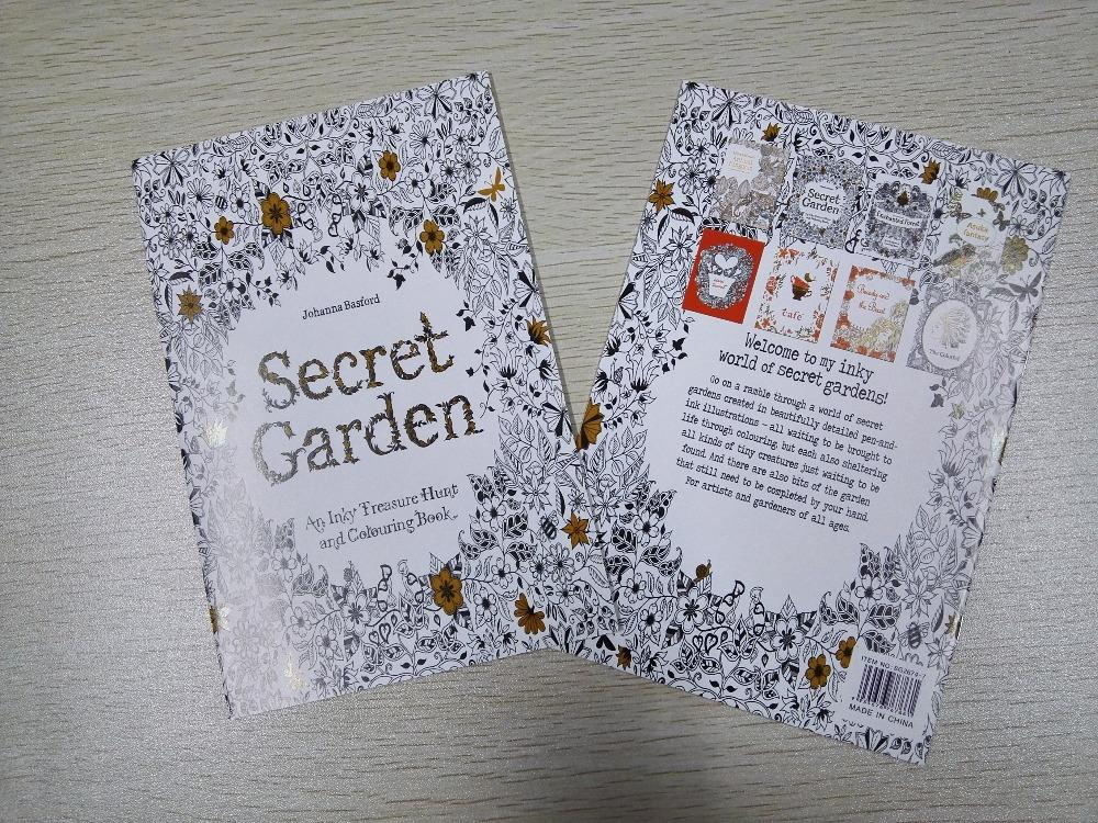English Edition Secret Garden Coloring Book For Children Adult Relieve Stress Kill Time Graffiti Painting Drawing 16 Pages New Online