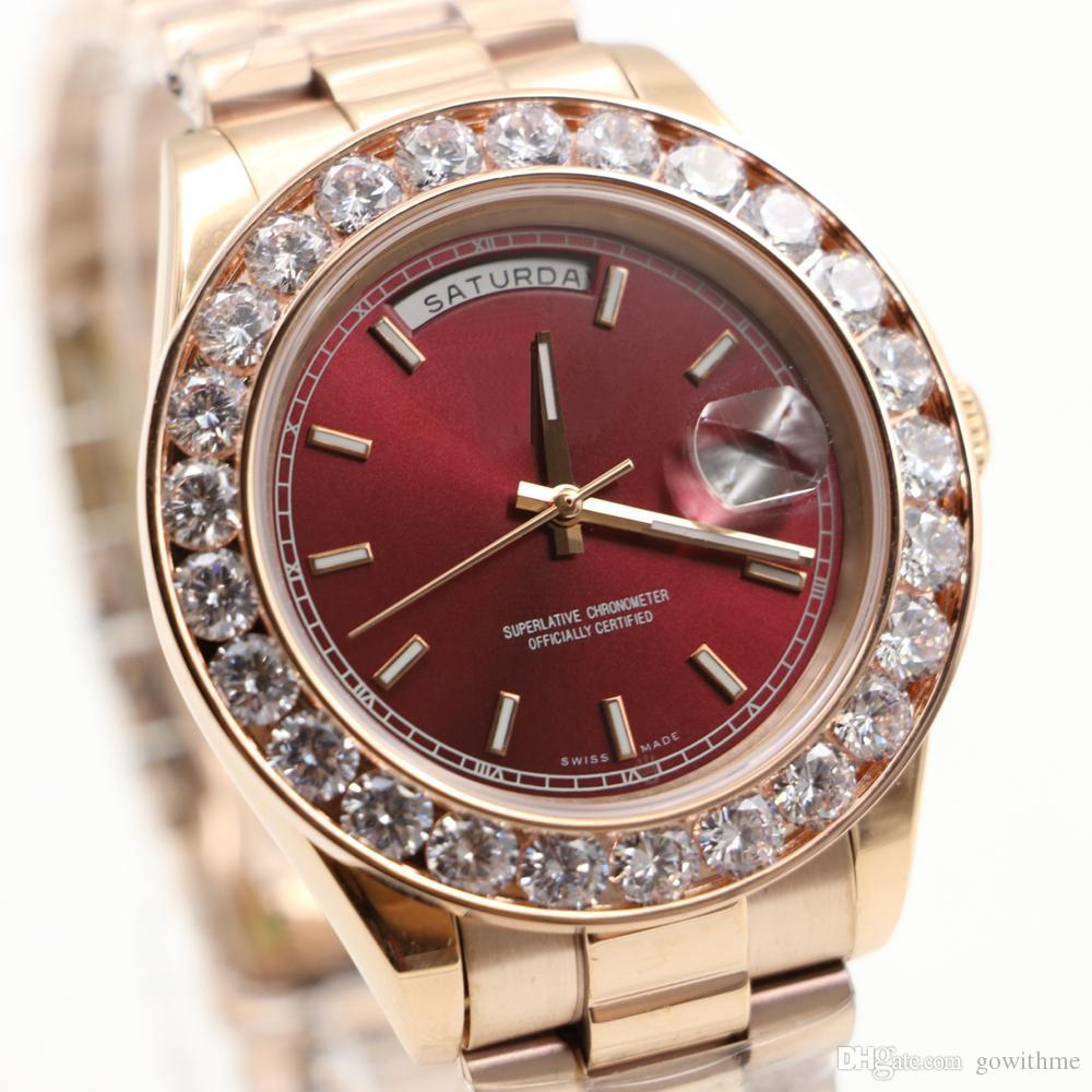 7 types 43mm top luxury brand day date automatic