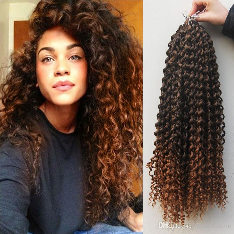 18 Synthetic Curly Crochet Hair Extensions For Black Women