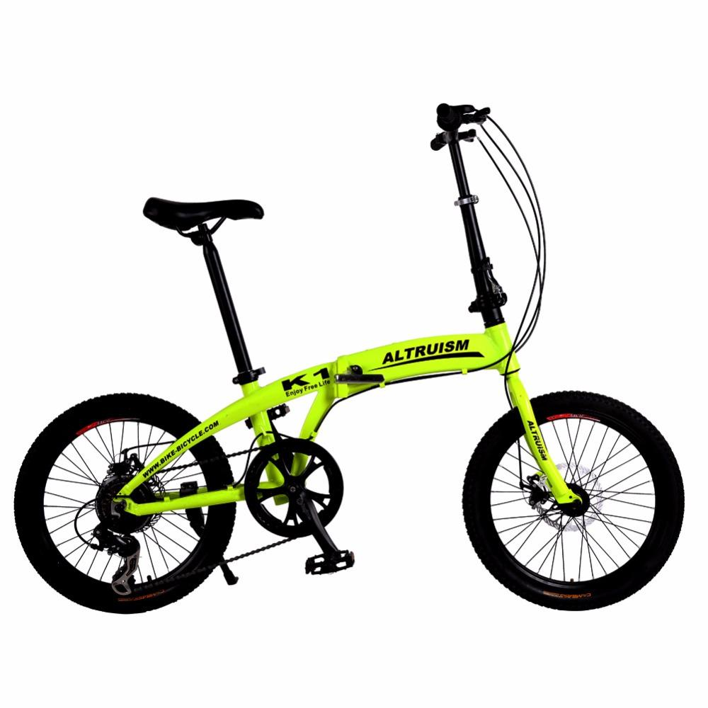 Altruism K1 Kids Bike Mountain Bikes 7 Speed Bicycle Dual Disc