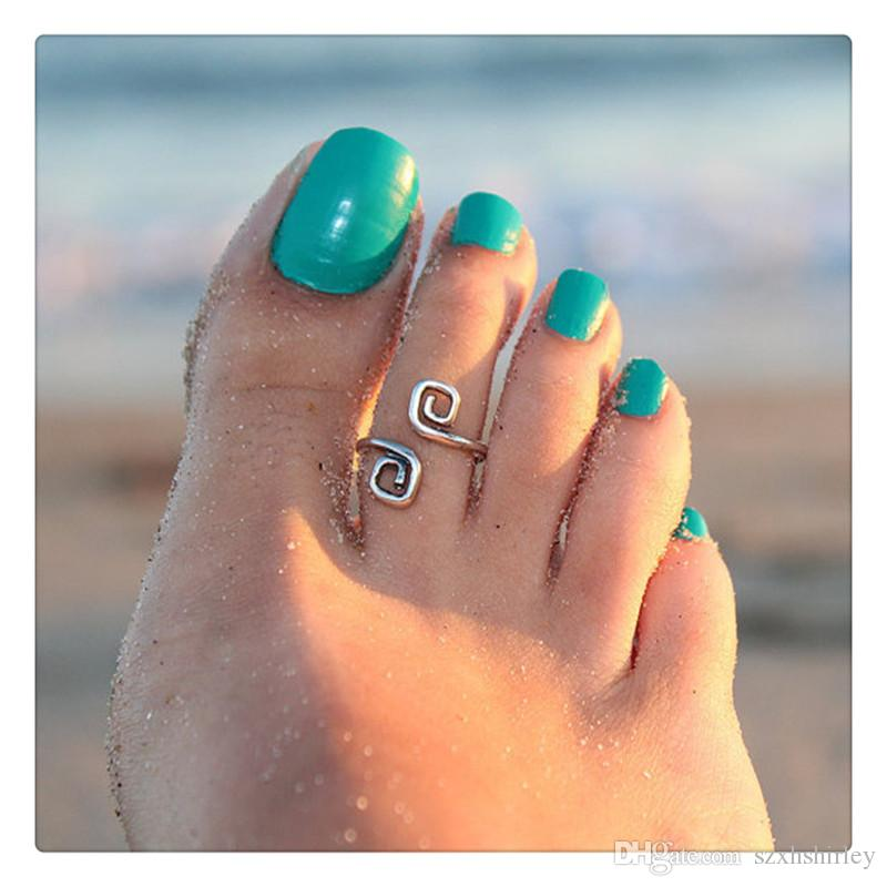 2017 wholesale fashion toe rings vogue simple