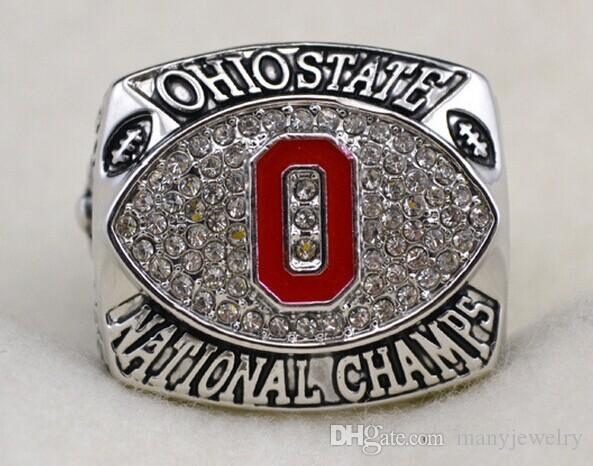 Sport Ring 2002 The Ohio State University Buckeyes National Championship Rings R