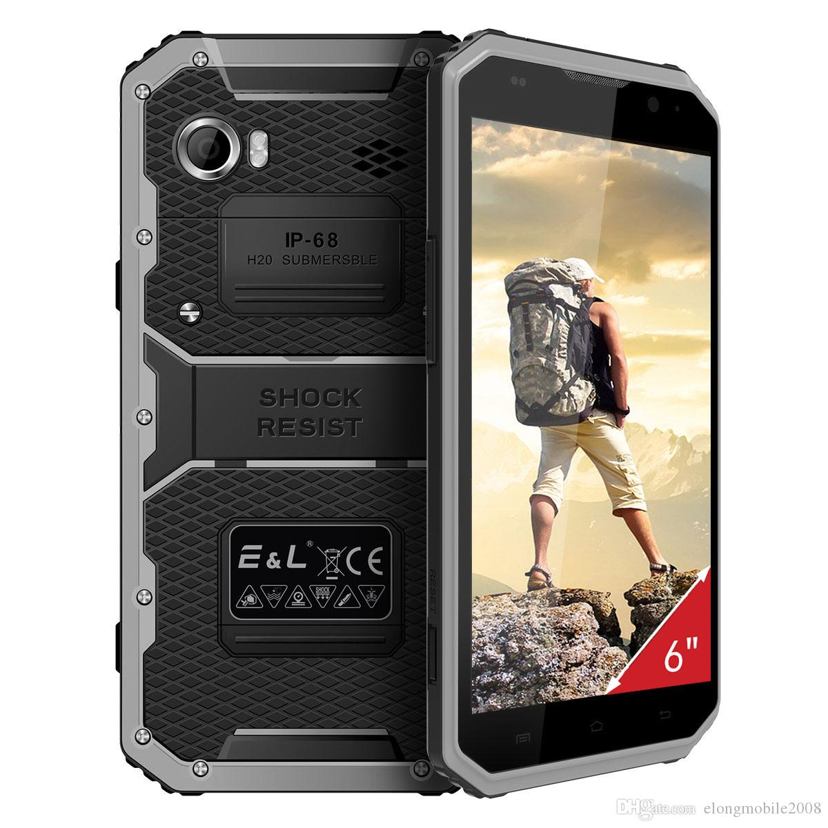 EL Proofings W9 Rugged 4G Smartphone 6.0 pouces Android Dual SIM Camera IP68 imp