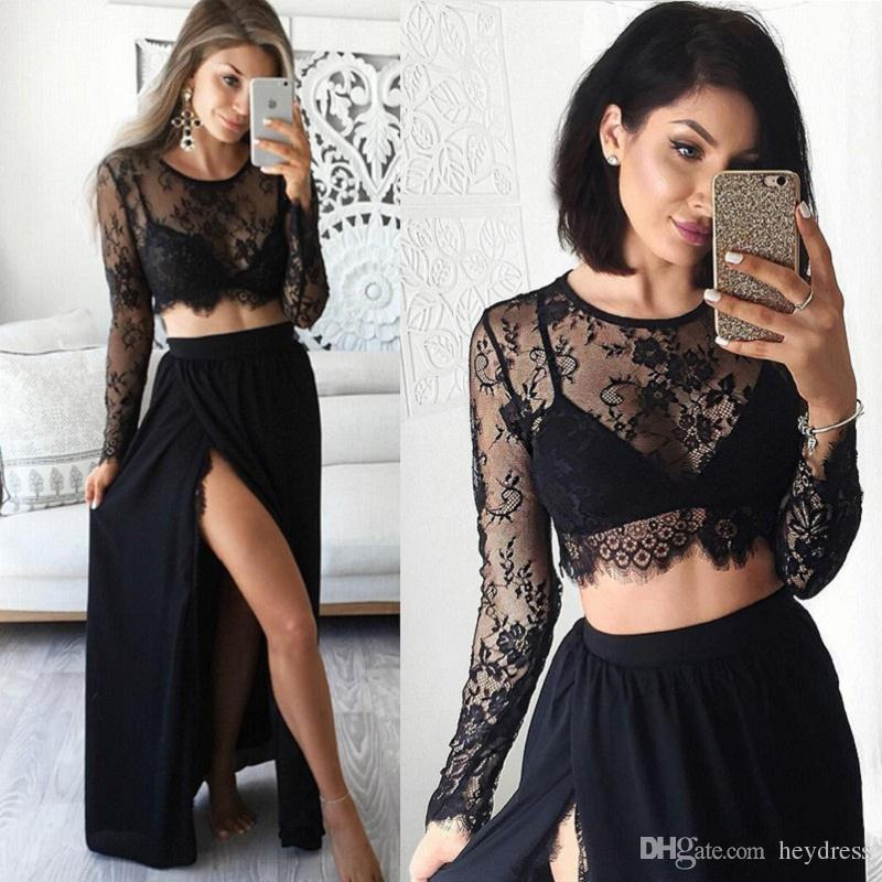 Images in black colour dress