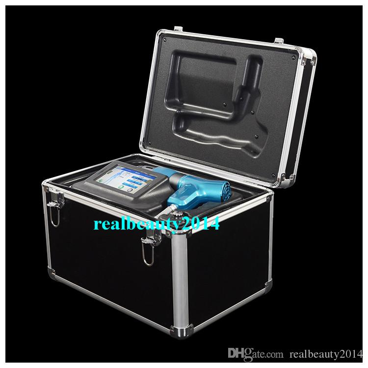 Portable shock wave physiotherapy equipment wave therapy for 2nd hand beauty salon equipment