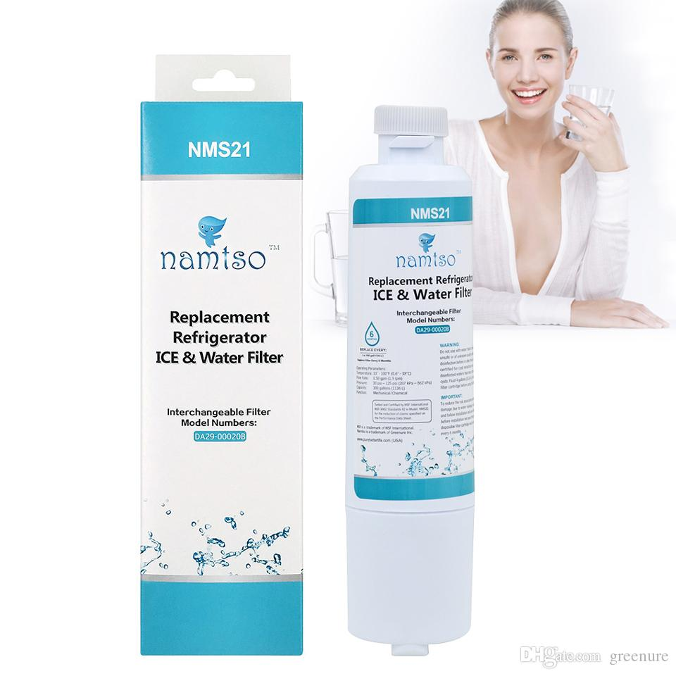 new water purifier namtso nms21 household ice u0026 water filter compatible with samsung da2900020ba hafcin carbon filters da2900020b samsung