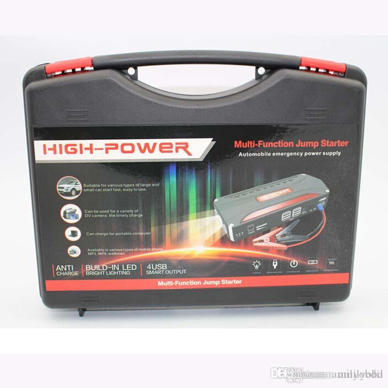 68800mah Car Battery Charger Pack Jump Starter Multi Function Auto