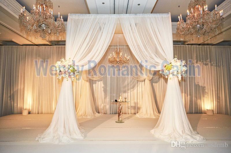 2018 3mx3mx3m White Color Wedding Square Pavilion Canopy