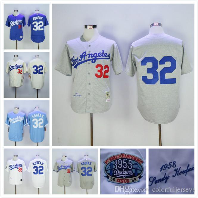 661594624 ... netherlands los angeles dodgers jersey 32 sandy koufax jersey flex base  1955 1963 throwback b96e2 17285