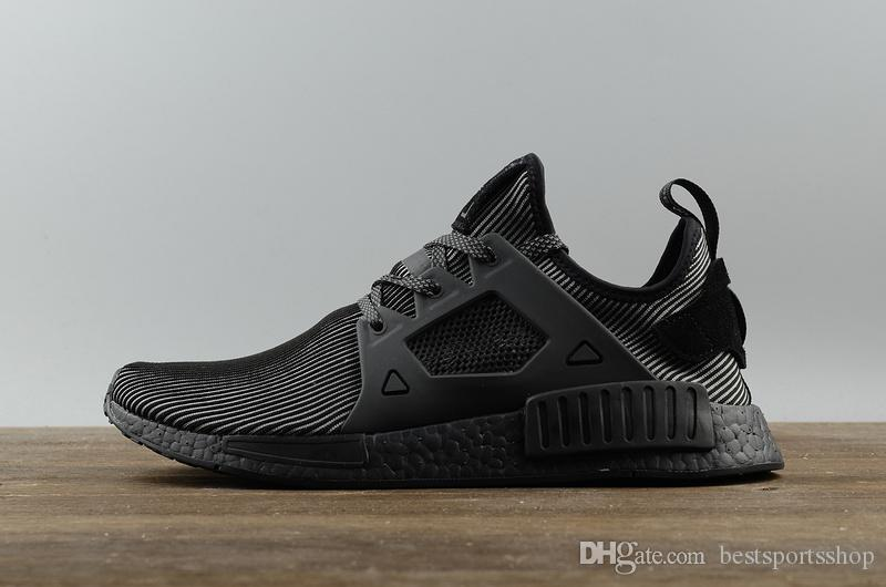 Adidas NMD XR1 PK R2 Triple Black Boost US SZ 8 13 Men's