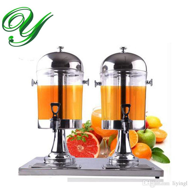 beverage dispenser stand target drink dispensers stainless steel spigot ice chamber plastic double juice container jar silver gold jug buffet server restaurant hotel glass dispens