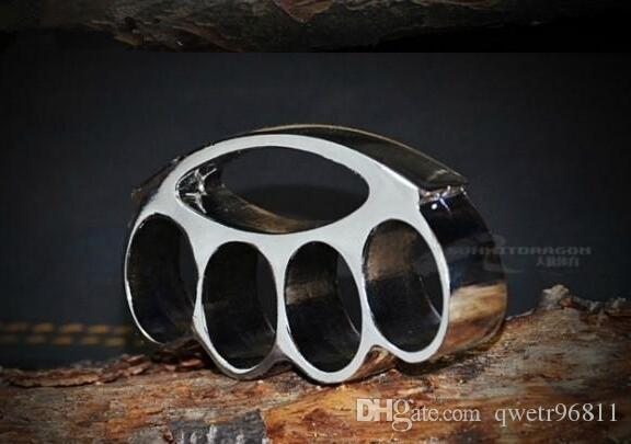 Moyenne Taille Cone Brass Knuckles Combat Knuckle Duster - Powerful auto-défense