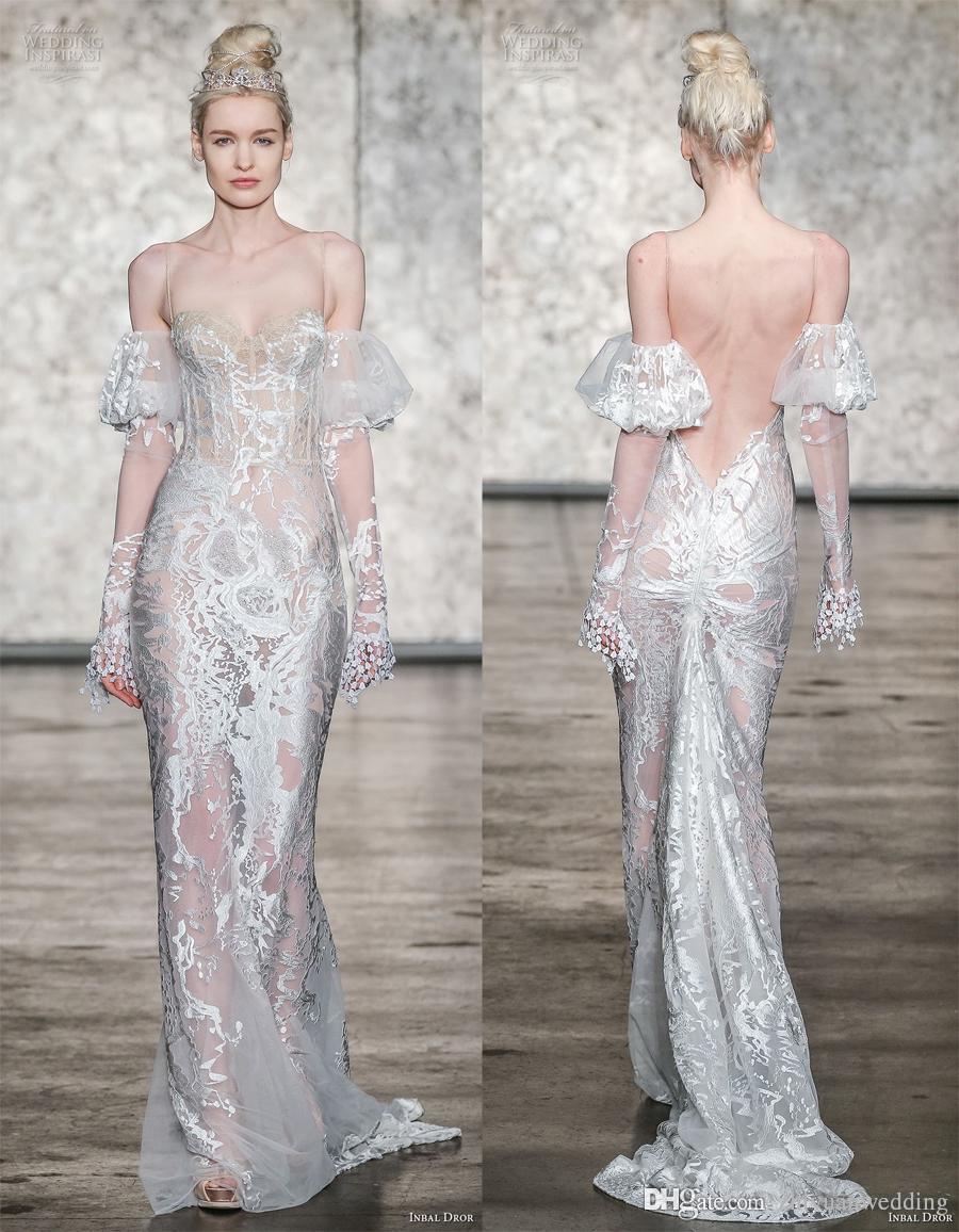 Cold shoulder wedding dresses pictures