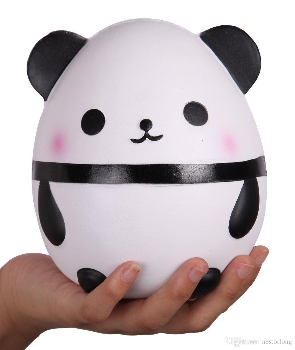 Squishy shop sale - 15 Cm Hot Sale Kawaii Jumbo Panda Squishy Soft Doll Collectibles Cartoon Sweet Scented Super Slow Rising Jumbo Squishy Toy Panda Egg Online With