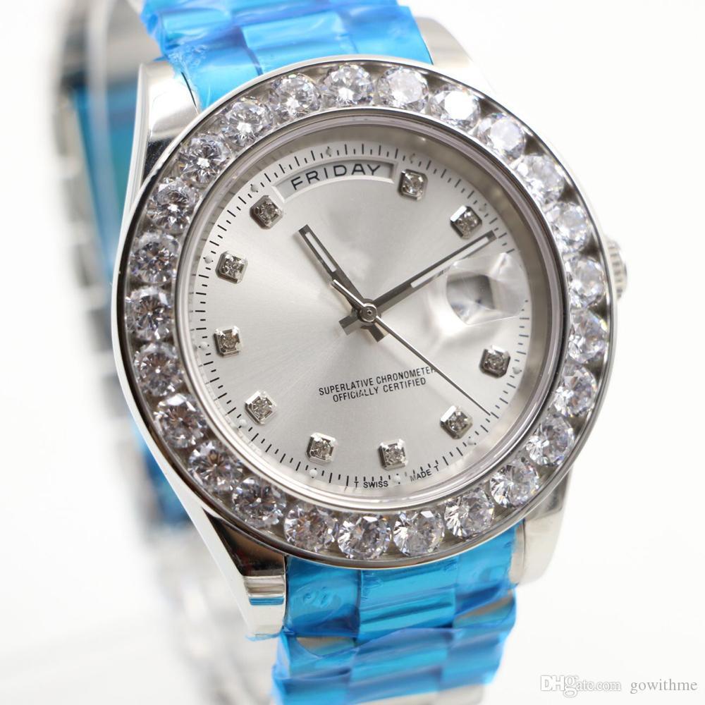 7 types 2017 43mm top luxury brand day date