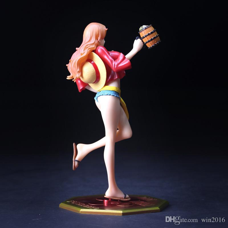 2018 One Piece Pop Nami Mugiwara Ver Beer Lady Sexy Girl