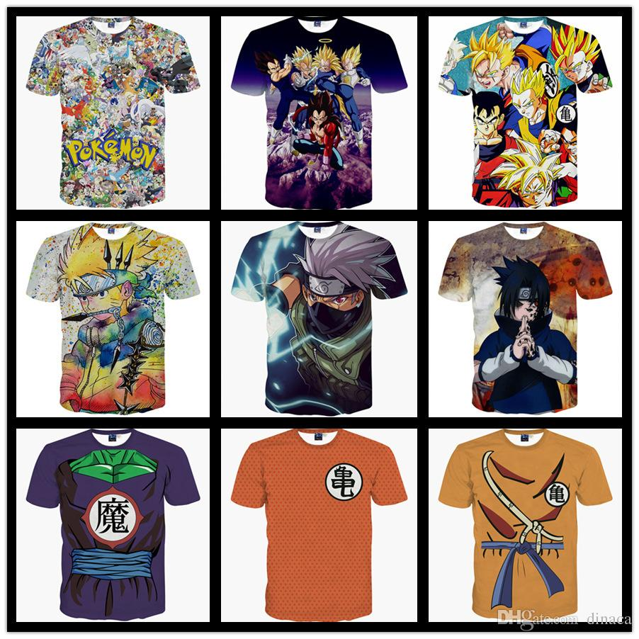 Super Saiyan Rose T-shirt Japanese Anime Goku Black T-shirt Cool Fashion Cartoon