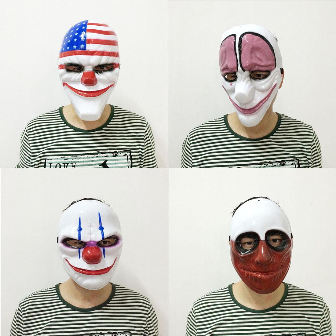 Wholesale- Creative PVC Scary Clown Mask Halloween Mask For ...