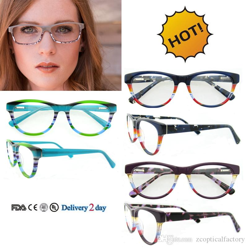 2017 china wholesale optical frame custom eyewear popular designer eyeglass frames with ce and fda cerfitication