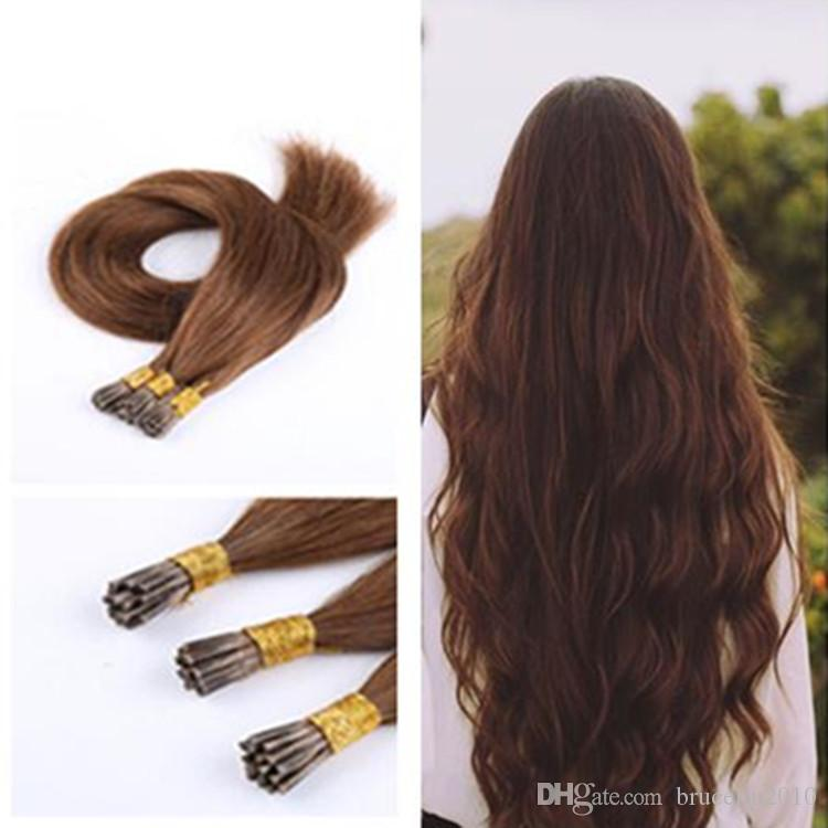 Stick Tip Hair Extensions 4 Keratin Sticks 20inch Straight