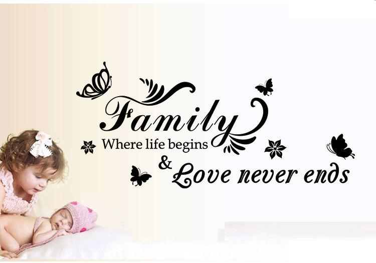 Download Aw9075 Family Where Life Begins Love Never Ends Quote ...