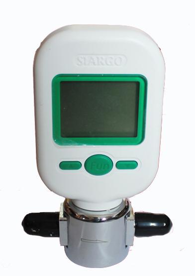 Flow Rate Tester : Wholesale mf digital gas mass flow meter protable