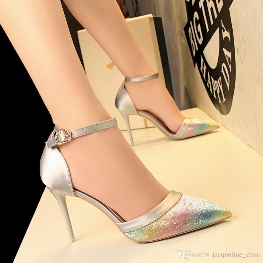 Ch Agne Color Wedding Shoes 017 - Ch Agne Color Wedding Shoes