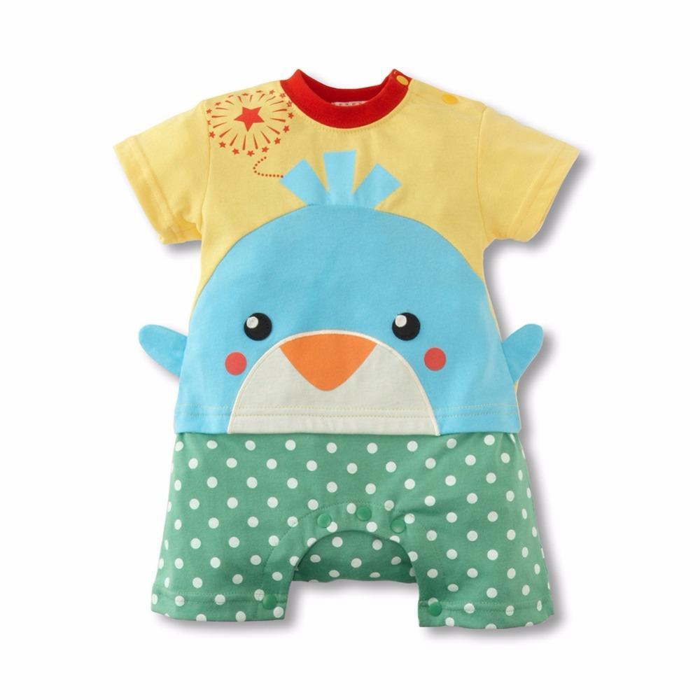 2017 Wholesale Newborn Baby Boy Girl Infant Summer Cute