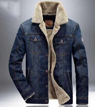 2017 Men Jacket And Coats Brand Clothing Denim Jacket Fashion Mens ...