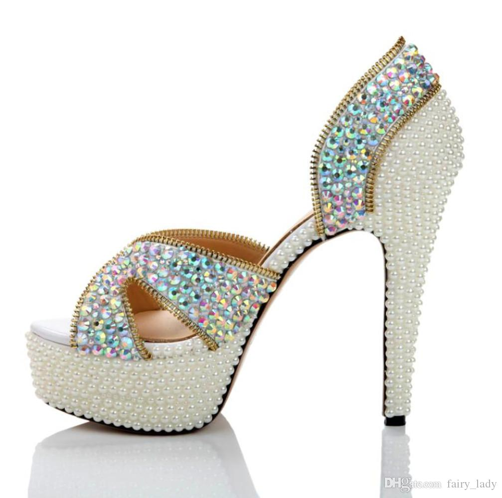 95 Wedding Sandals With Pearls Pearl And Crystal Encrusted Dyeable T Strap Sandal Style