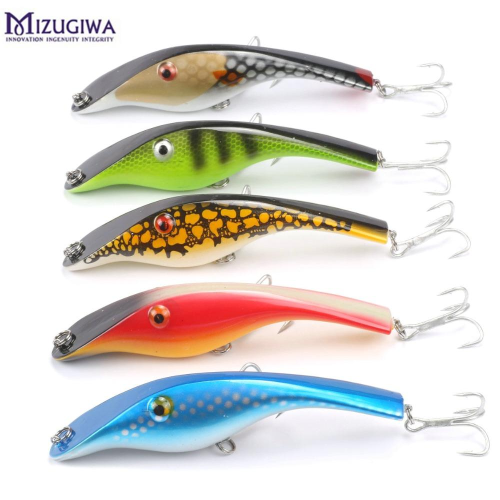 zalt fishing lure musky lundberg stalker jerkbait pike lure perch, Fishing Bait