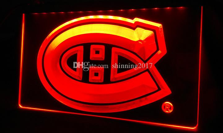LS360-r-ontreal-Canadiens-Hockey-NR-Neon-Light-Sign Decor Livraison gratuite Dro
