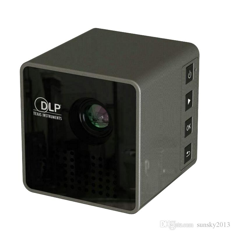 Uninc p1 dlp micro projector mini portable led projectors for Micro portable projector