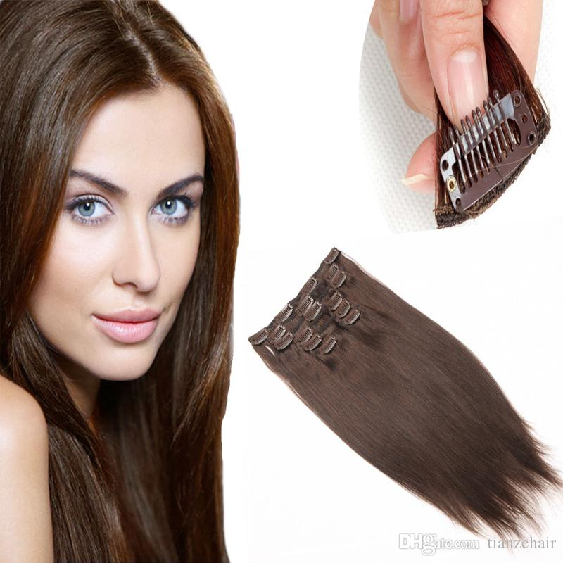 Brazilian cheap remy clip in human hair extensions high quality brazilian cheap remy clip in human hair extensions high quality 22clips straight clip inon human hair extension 10pcs straight clip in hair extensions pmusecretfo Image collections