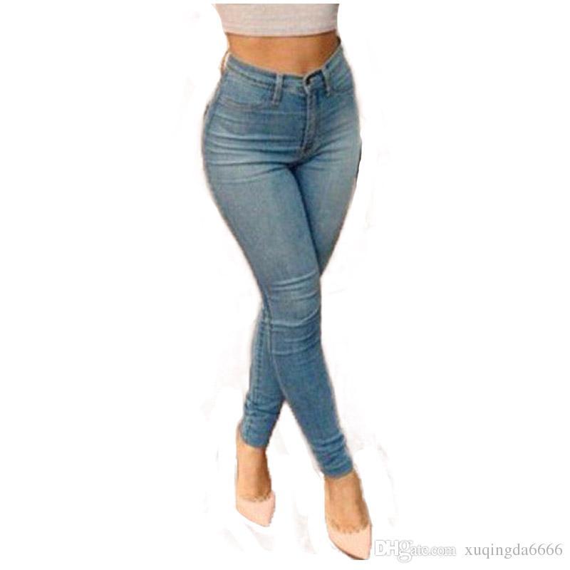 High Waisted Jeans Light Blue Online | Light Blue High Waisted ...