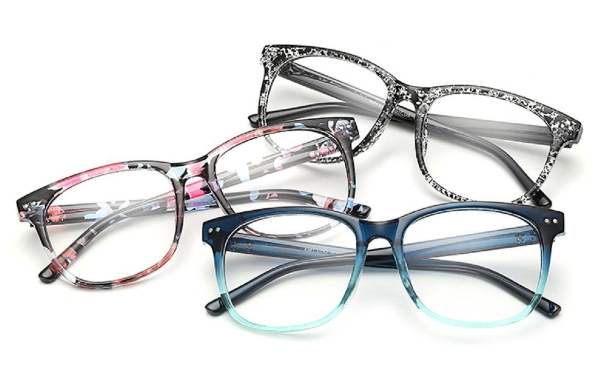 2017 Eyeglasses Frames Men Women Fashion Plain Mirror ...