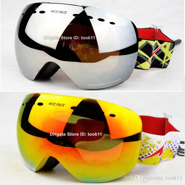 best brand for goggles  2017 Brand Designer Ski Goggles Motocross Spherical Skiing Glasses ...