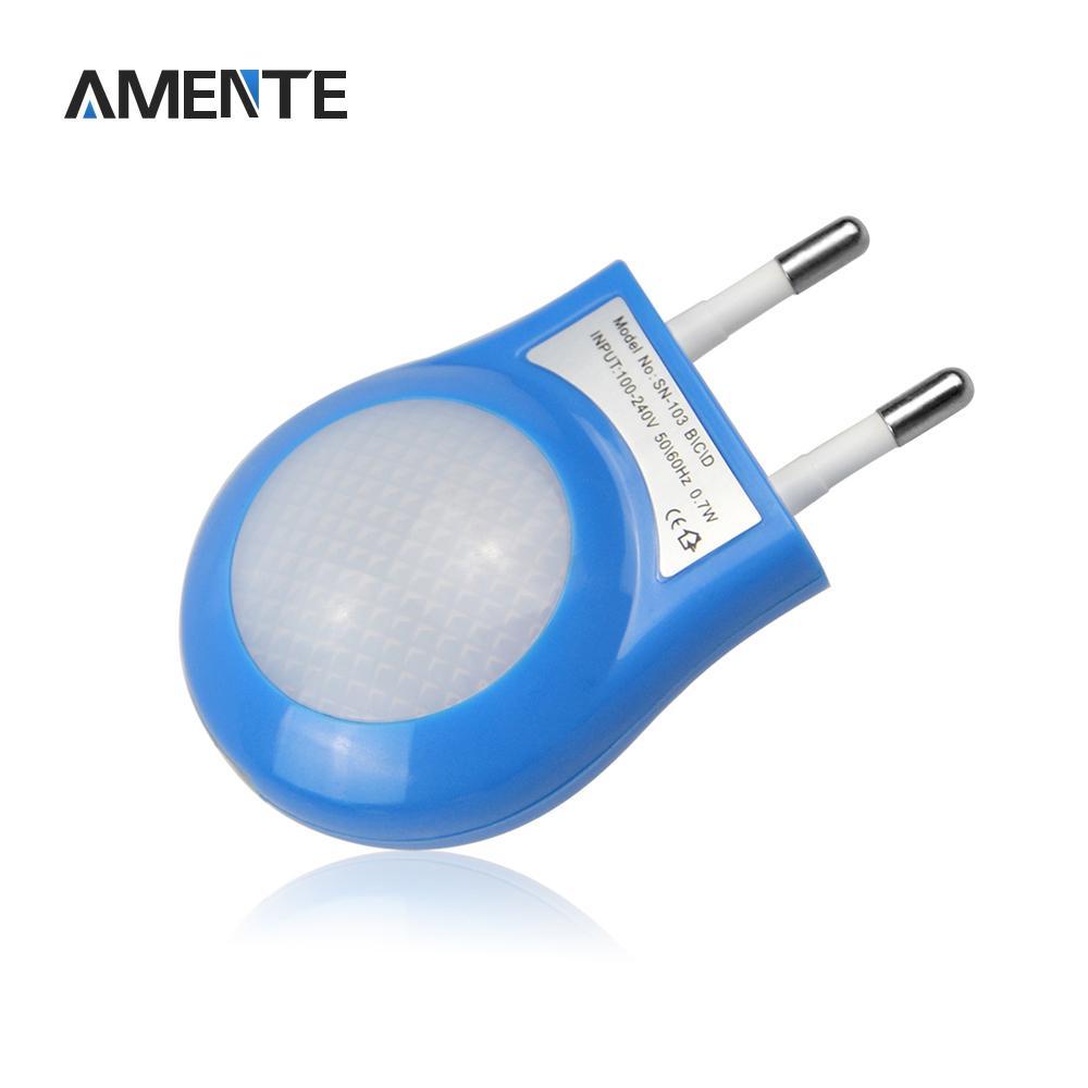 Led smart night lamp - 1pcs Led Night Lamp Children Ac110v 220v 0 7w Lighting Auto Sensor Smart Dreambed Lamps