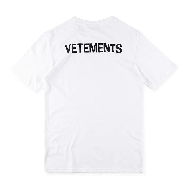 2017ss new t shirt vetements staff t shirt men women hip for Vetements basic staff t shirt