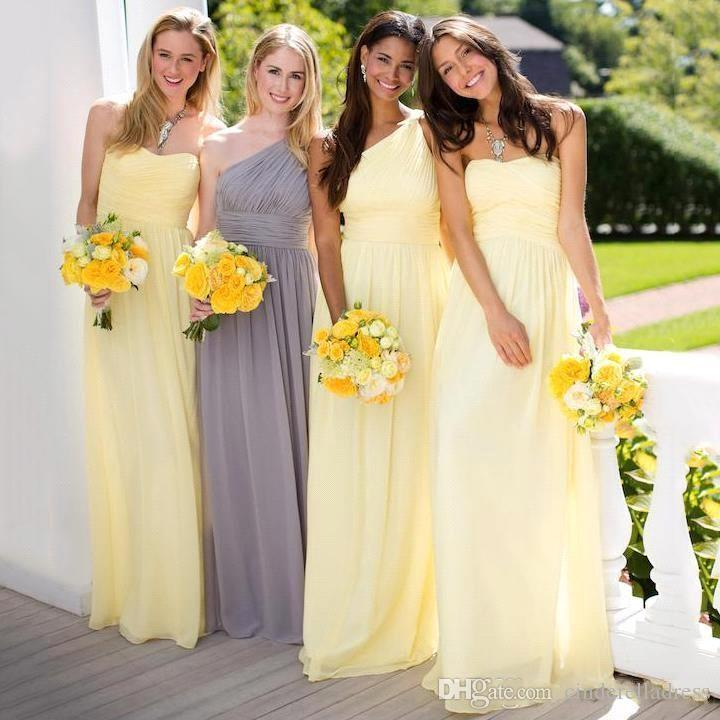 Daffodil Bridesmaid Dress 2018