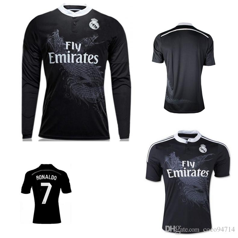 2014 2015 Real Madrid Soccer Jerseys 14 15 RONALDO JAMES BALE Benzema RAMOS ISCO