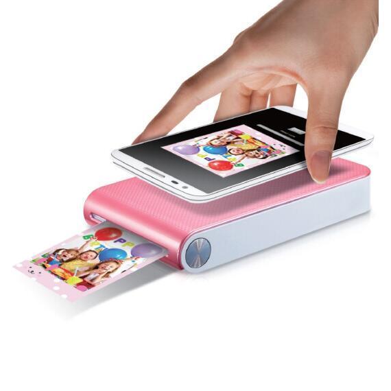 mobile phone photo printer 4 color optional popo printing